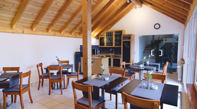 Frühstück im Gästehaus Buchert