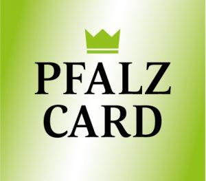 PfalzCard - Die Gästekarte der Region. Exklusiv bei teilnehmenden Unterkünften.