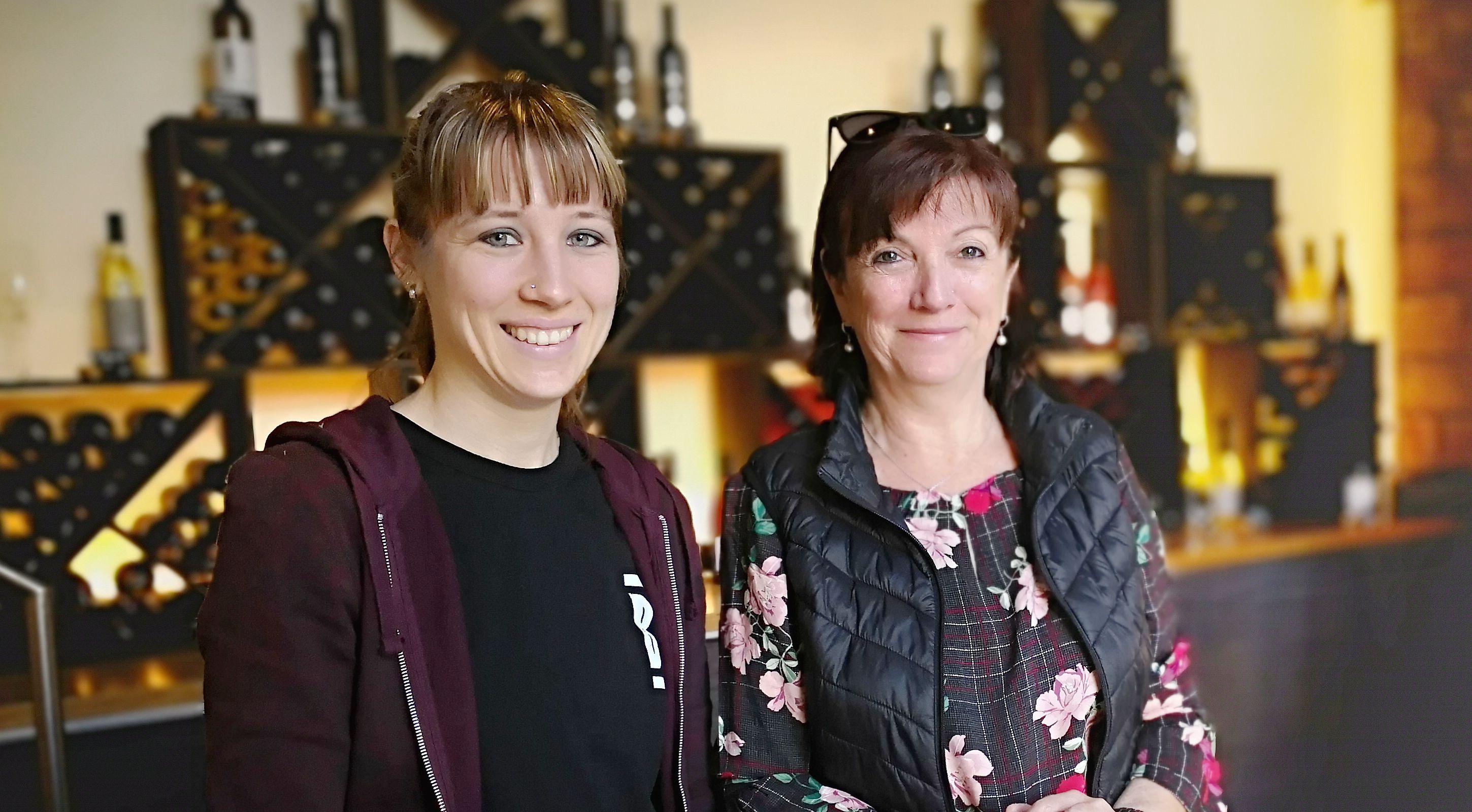 Lara und Pia