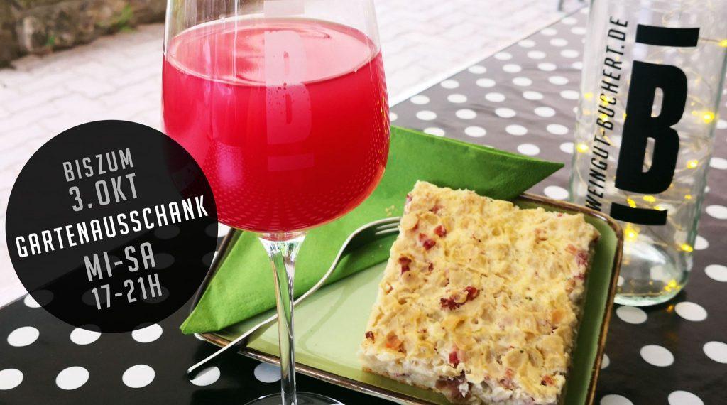 Weingarten bis 3.10.2020 geöffnet